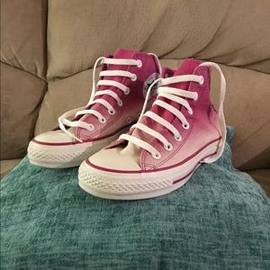Converse All Star Chuck Taylor High Top Faded Pink
